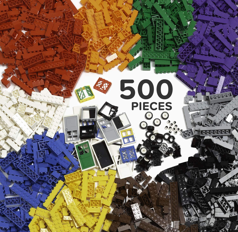 1100 Pieces Toys Bulk Block Set w... Brickyard Building Blocks Building Bricks