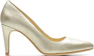 Clarks Laina Rae, Women's Women Pumps, Gold (Champagne Metallic Leather), 6.5 UK (40 EU)