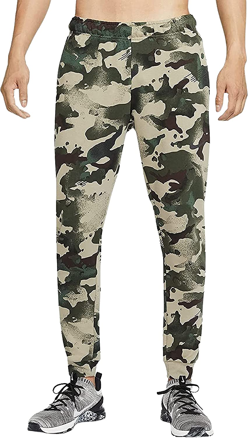 Nike Men's Dri-fit French 2021 new Terry 3X-Larg Size Training Camo Complete Free Shipping Pants