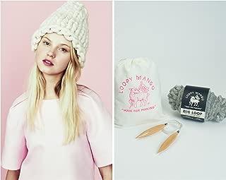 Loopy Mango DIY Kit - Helsinki Hat - Some Like it Hot Pink