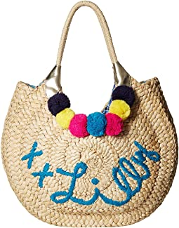 Positano Straw Tote Bag