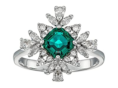 Swarovski Emerald Palace Ring (CZ White) Ring