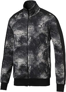 Puma Classics T7 Jacket AOP Dk Elephant Skin Grey Shirt For Unisex, Size L