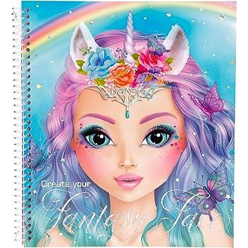 TOPModel 5298.001 Create Your Fantasy Face – Libro para