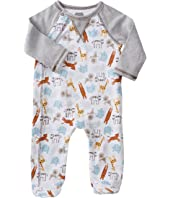 Mud Pie - Go Wild Animal Footed Sleeper (Infant)