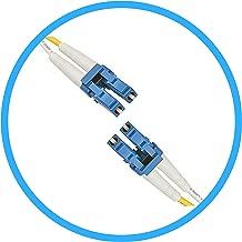FiberShack - Duplex Fiber Optic Patch Cables - Single Mode - LC, ST, SC. 1M & 3M. Commercial Quality. (1M, LC to LC)