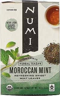 Numi Tea 19375-3pack Numi Tea Moroccan Mint Herbal Tea - 3x18 bag