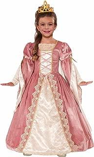 Forum Novelties Designer Collection Deluxe Victorian Rose Costume Dress, Child Medium