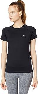 Camiseta Feminina Hybrid SS Tee, Salomon