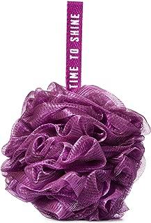 Bath and Body Works Dark Purple - TIME to Shine Mesh Sponge