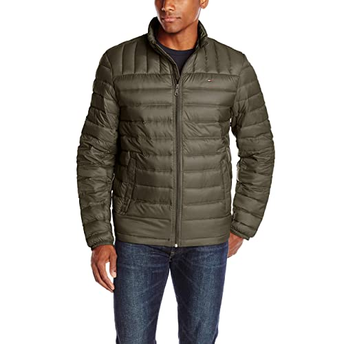 e20072f8d9fd Tommy Hilfiger Men s Packable Down Jacket (Regular and Big   Tall ...