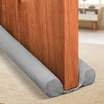 Holikme 34 Inch Twin Door Draft Stopper Weather Stripping