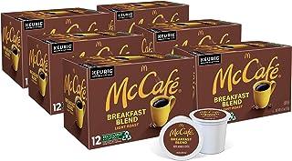 McCafé Breakfast Blend, Keurig Single Serve K-Cup Pods, Light Roast Coffee Pods, 72 Count