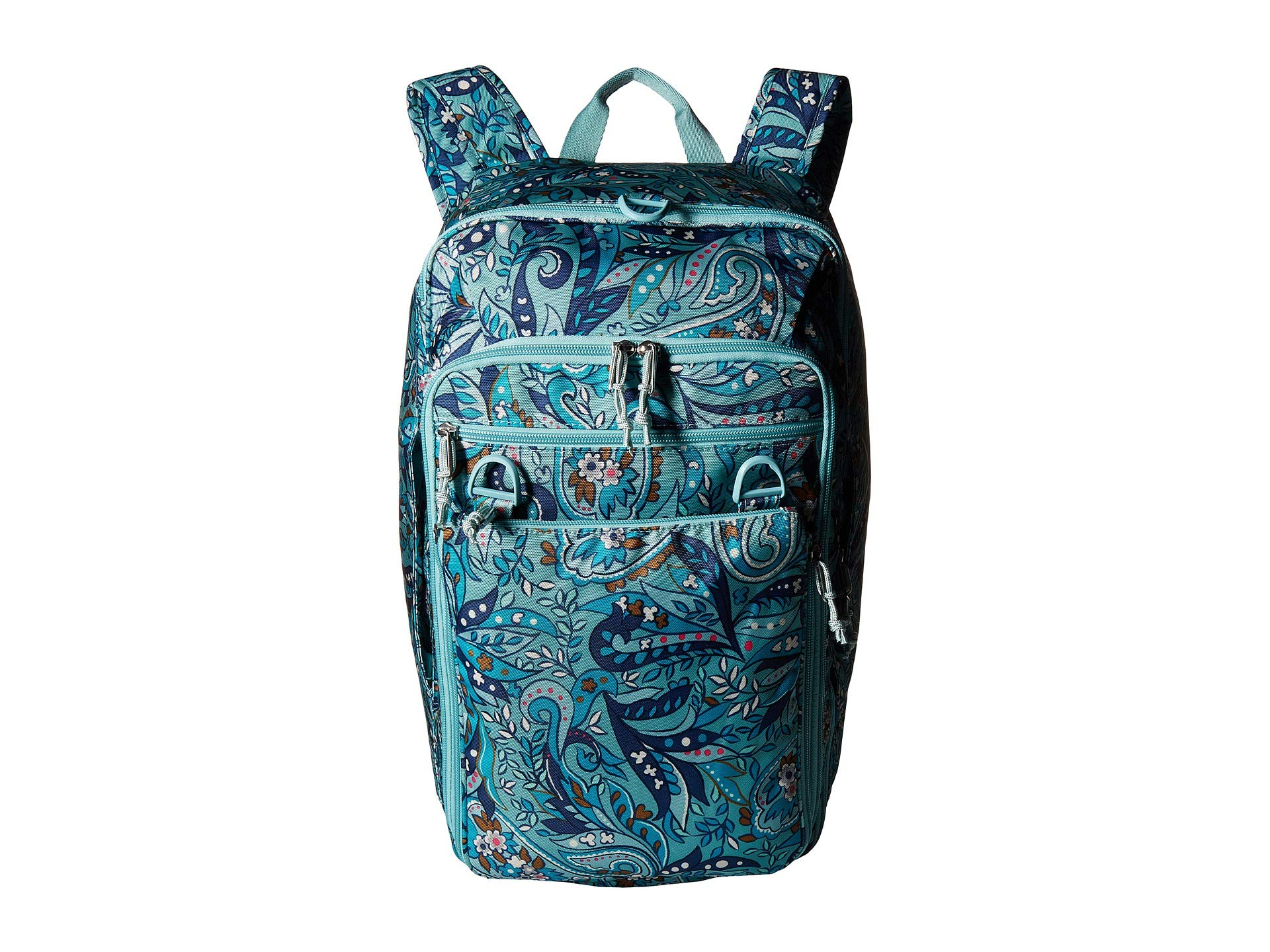Bag Paisley Convertible Up Travel Vera Daisy Lighten Bradley wXq1xn6U7
