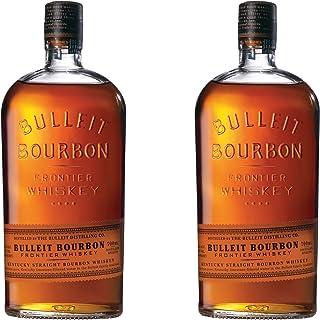 Bulleit Bourbon Frontier Whisky, 2er, Kentucky Straight Bourbon Whiskey, Alkoholgetränk, Alkohol, Flasche, 45%, 700 ml, 749201