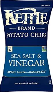 Kettle Chips, Sea Salt Vinegar, 141g