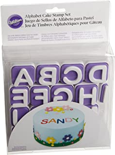 Wilton 26-Piece Classic Letters Stamp Set- Discontinued By Manufacturer