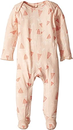 Stella McCartney Kids - Rufus All Over Ice Cream Printed Footie (Infant)