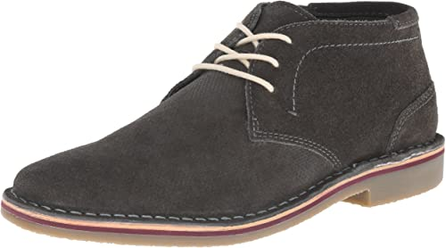 Kenneth Cole Unlisted Men& 039;s Real Estate Chukka Boat, grau, 9 M US