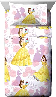 Disney Beauty & The Beast True Beauty 3 Piece Twin Sheet Set, 3