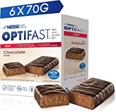 OPTIFAST Very Low Calorie Diet Bar Chocolate Flavor, 420G