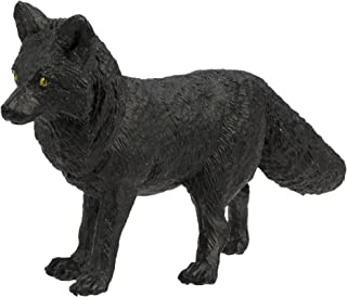 Safari Ltd Wild Safari North American Wildlife – Black Fox – Educational Hand Painted Figurine – Quality Construction from Safe and BPA Free Materials – For Ages 3 and Up