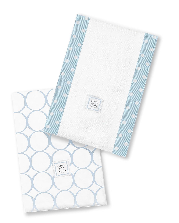 SwaddleDesigns Baby Burpies Set of Regular Fort Worth Mall discount Burp 2 Pastel Cotton Cloths