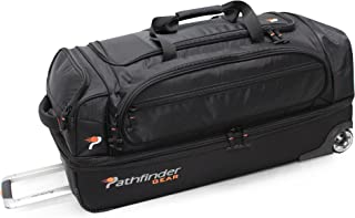 Gear 32 Inch Rolling Drop Bottom Duffel , Black, One Size