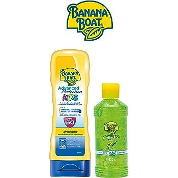Banana Boat KIDS Pack Familiar - Kit de Crema Solar Niños SPF 50 + ...