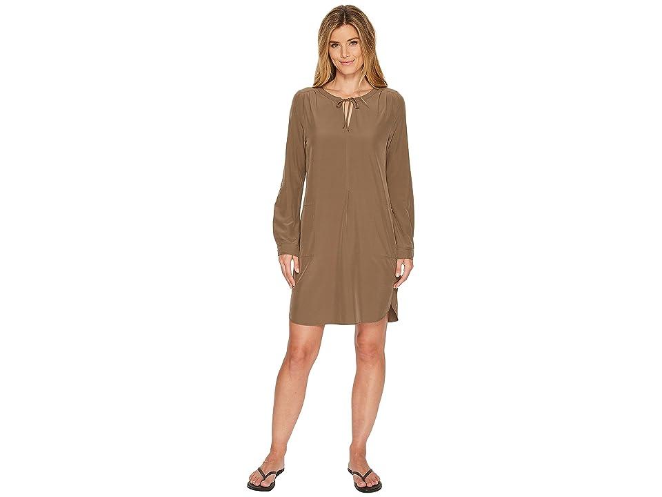 Prana Natassa Dress (Mud) Women