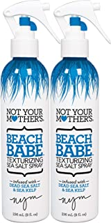 Not Your Mother's 2 Piece Beach Babe Sea Salt Spray, Texturizing, 16 Ounce