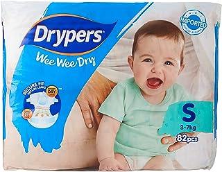 Drypers Wee Wee Dry, S, 82ct (Pack of 3)