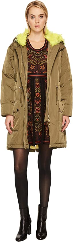Boutique Moschino Faux Fur Parka