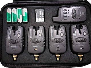 MK-Angelsport radio bissanzeiger set 4+1 multi kol vattentät 1:1 överföring