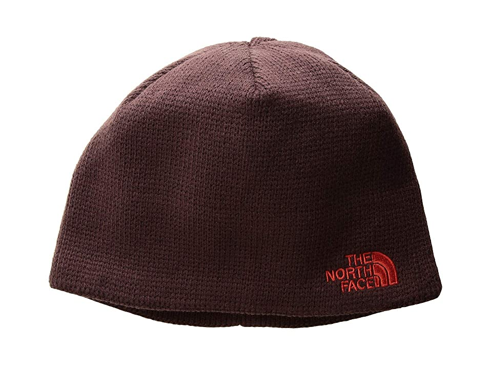 The North Face Bones Beanie (Fig/Fiery Red) Beanies