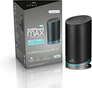 ARRIS SURFboard mAX Pro Mesh AX11000 Wi-Fi 6 AX Router (W31)