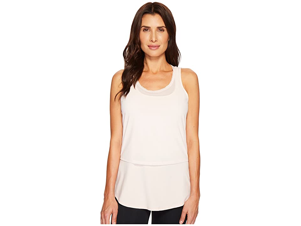 Ivanka Trump Active Layered Racerback Tee (Blush) Women