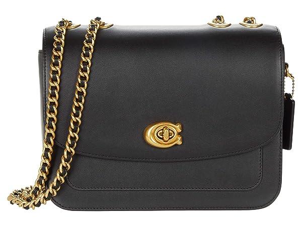 COACH Refined Calf Leather Madison Shoulder Bag