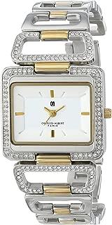 Charles-Hubert, Paris Women's 6833-T Premium Collection Two-Tone White Dial Watch