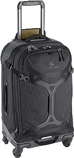 Eagle Creek Gear Warrior Checked Luggage Softside 4-Wheel Rolling Suitcase Duffel, Jet Black, Medium