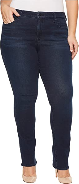 Plus Size Marilyn Straight Jeans in Smart Embrace Denim in Morgan