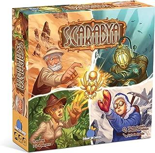 BLUE ORANGE Games Scarabya Strategy Board Game