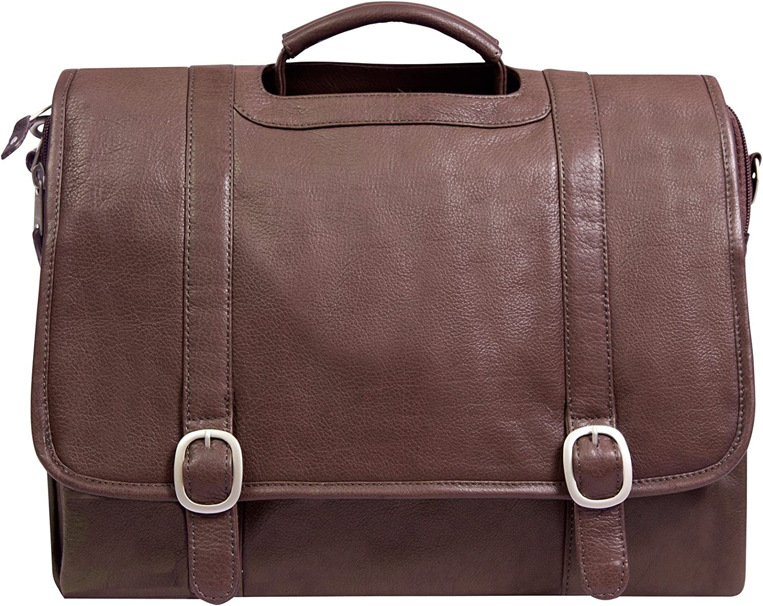 Canyon Outback Willow Rock 15.6Inch Leather Computer Briefcase