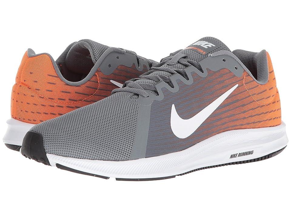 Nike Downshifter 8 (Cool Grey/White/Hyper Crimson/Dark Grey) Men