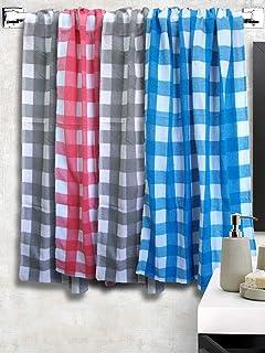 Athom Trendz Light Weight Cotton Premium Bath Towel 75x150 cm Set of 4