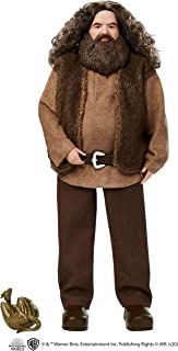 ​Harry Potter Rubeus Hagrid Collectible Doll, Approx. 12-inch Wearing Belted Shirt and Vest, Dragon Accessory, Gift for 6 Year Olds and Up
