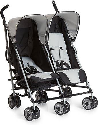 6f98a9ed1 Hauck Turbo Duo - silla gemelar para gemelos y hermanos de 0 meses  (combinable con