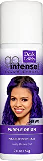 Temporary Hair Color by SoftSheen-Carson Dark and Lovely, Go Intense Color Sprays, Hair Color Spray for Instant and Ultra-...