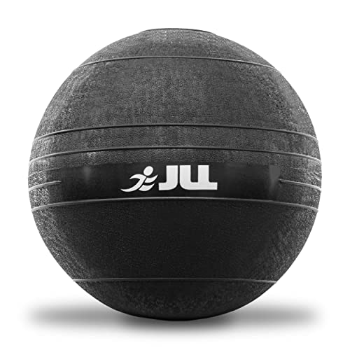 JLL® Slam Ball - No Bounce, Heavy Duty Rubber, Available in 5kg, 10kg, 12kg & 15kg - Sports Medicine Ball, Ideal for Core Workouts, Strength Training, HIIT Workouts
