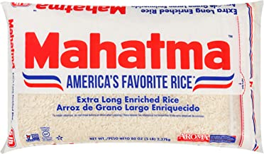Mahatma Enriched Rice, Extra Long Grain, 80 oz